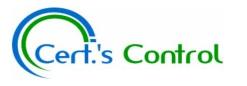 CERT'S CONTROL